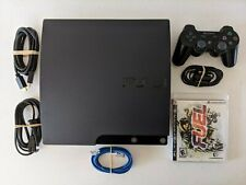 New listing Sony PlayStation 3 Slim 120Gb Black Console with Hdmi Cable, Controller