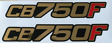HONDA CB750F CB750 CB900FZ CB750FA CB750FB CB750FC SIDE PANEL DECALS