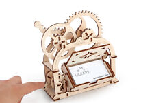 Ugears Etui Mechanical 3D Puzzle Wooden Construction Brain Teaser Office Decor