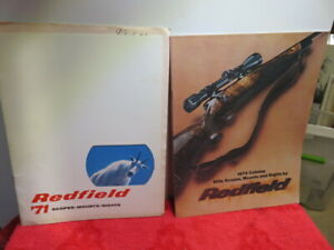 REDFIELD CATALOG 1971 WITH PRICE LIST AND 1974 CATALOG