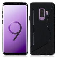 "Etui Coque Housse TPU Silicone Gel Motif S-Line Samsung Galaxy S9 Plus 6.2"""