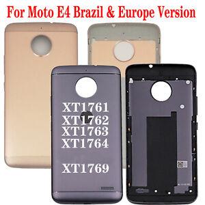 For Motorola Moto E4 XT1761 XT1762 XT1763 XT1764 Back Door Housing Battery Cover