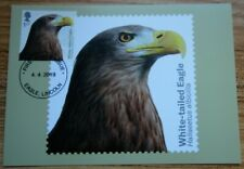 2019 BIRDS OF PREY FRONT FDI PHQ CARDS SET OF 10 EAGLE LINCOLN HANDSTAMPS No 455