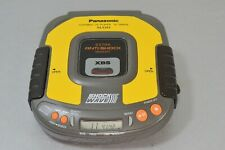 Vtg CLEAN Panasonic SL-SW404 Yellow Shockwave Portable CD Player Tested Working