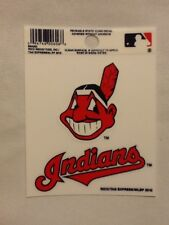 Cleveland Indians Static Cling Sticker Decal NEW!! Window or Car! MLB