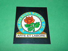 N°110 BADGE BLACKBURN ROVERS MERLIN PREMIER LEAGUE FOOTBALL 2007-2008 PANINI