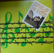 jewish holocaust LP-songs of the ghettos in english+book-bet lochamei hagetaot
