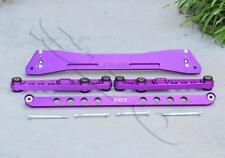 Purple Rear Subframe Tie Bar Lower Control Arm Kit For 92-95 Civic/94-01 Integra