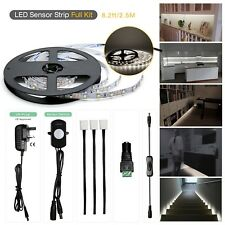 Flexible LED Strip Lights PIR Motion Sensor Activated Under Cabinet Bed Stairs