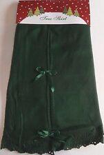 """Christmas Tree Skirt 48"""" Green"""
