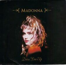 MADONNA  Dress You Up / Shoo-Bee-Doo  rare 45 with PicSleeve