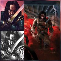BRZRKR #1 - Exclusive Variant Covers (3 Pack bundle) LTD to Only 500 Copies