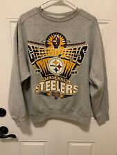 Vintage Pittsburgh Steelers Crewneck Sweatshirt XXX  Super Bowl NFL