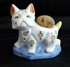 Vintage Japanese Cat Ceramic Pincushion