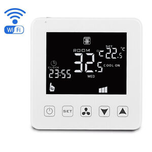 Air Conditioning Thermostat Three Speed Remote Control Switch Room Fan Coil Unit