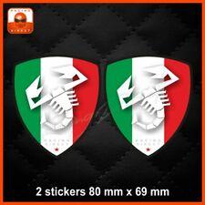 165 Sticker FIAT ABARTH tricolore decal aufkleber adesivo 500 500X Punto Spider