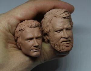 BUD SPENCER TERENCE HILL CUSTOM 1/6 HEAD SCULPT,BODY,HOT,FIGURE,TOYS,TRINITA