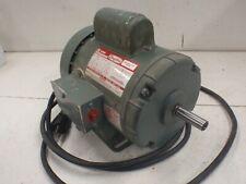 Dayton 34 Hp 3450 Rpm Tefc Single Phase Electric Motor