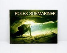 Genuine ROLEX SUBMARINER LIBRETTO 594.52 ENG. NOV 2007
