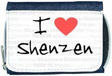 I love coeur Shenzen Denim Portefeuille