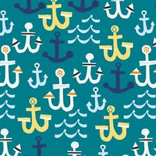 Seaside 42695-6 Anchors Cotton Quilt Sewing Windham Fabric BTY