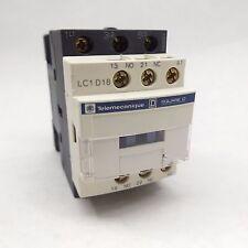 SCHNEIDER ELECTRIC LC1D18G7 NON-REVERSING CONTACTOR 35A