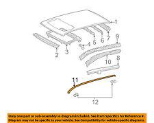 Pontiac GM OEM 03-08 Vibe Roof-Drip Molding Left 88969800
