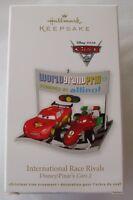 Hallmark 2011 Walt Disney Lightning McQueen Pixar Cars Race Christmas Ornament