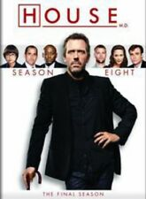 House: Season Eight [New DVD] Boxed Set, Repackaged, Snap Case