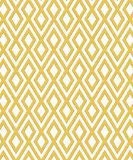 Erismann Geometric Mustard Yellow Glitter Wallpaper (4629-03)