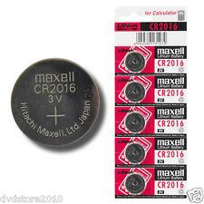 Confezione 5 Batterie Maxell Pile Alcaline Bottone Batteria 3V CR2016 785861