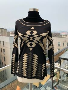 ⭐️ RALPH LAUREN PURPLE LABEL COLLECTION CASHMERE AZTEC SWEATER EXTRA SMALL ⭐️