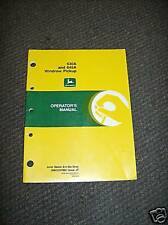 Jd John Deere 630a and 645a Windrow Pickup Operator's Manual, Omcc47862