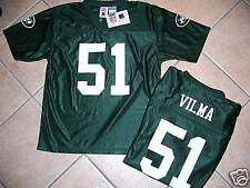 NWT NEW YORK JETS JERSEY SHIRT VILMA YOUTH  L 14  GREEN