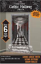 Halloween Gothic Haunted Hallways Large Wall Decoration Scene Setters
