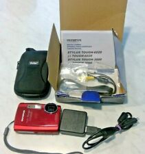 Olympus Stylus Tough 3000 12 MP Digital camera RED BODY