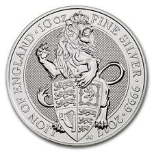 10 oz 999 Silver Silver Coin United kingdom Queens Beasts Lion 2017 999 Silver
