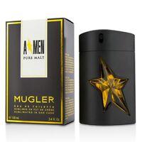 Thierry MUGLER A MEN PURE MALT EDT eau de toilette 100 ml 3.4 oz NIB sealed