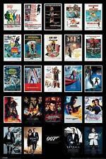 JAMES BOND FILM POSTER FILM CHECKLIST # 2