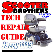 Pride Jazzy 1113 Technical Service Guide And Parts Diagrams Diagnostic Repair