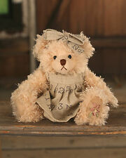 Teddy Bear /'Jayde/' Settler Bears Handmade Collectable Gift Dress 30cms NEW