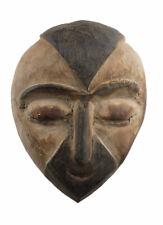 Masquette Igbo 14 cm masque diminutif africain Nigéria bois Art premier 16921
