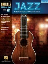 Jazz Sheet Music Ukulele Play-Along Book and Audio NEW 000141192