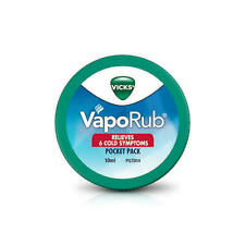 VICKS VapoRub relieves 6 cold symptoms Congestion Relief Chest  10ml and 5ml
