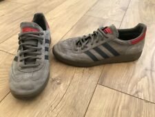 Men's Grey / Red Adidas Special Trainers. Size 9.5. Casual, Retro, Football.