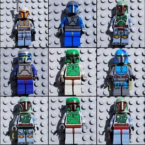 Lots of LEGO Minifigures Book of Boba Fett Mandalorian Star Wars Slave I Jango