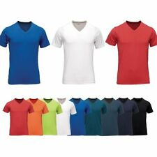V Neck Fitted Regular Size Singlepack T-Shirts for Men
