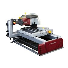"NEW 2 1/2 Horsepower 10"" Industrial Tile And Brick Saw Cut LARGE Tiles Free Ship"