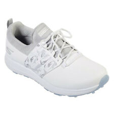 NEW Womens Skechers Go Golf Max Lag WIDE Golf Shoes 14886 White/Grey -Choose Sz!