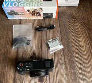 """Sony zv-1 20.1mp 4k Digital Video vlogging Kamera-Schwarz """"NEU"""""""